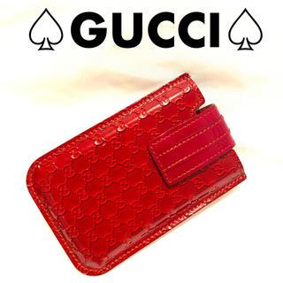 グッチ(Gucci)の⭐️美品⭐️グッチ  GG柄 パテントレザー モバイルケース iQOSケース(その他)