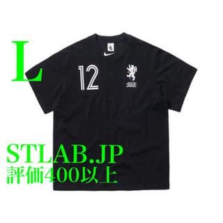 ナイキ(NIKE)の黒 L NIKE OFF-WHITE TEE ナイキ オフホワイト Tシャツ(Tシャツ/カットソー(半袖/袖なし))