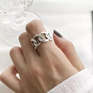 トゥデイフル(TODAYFUL)のsilver925 シルバーチェーンリング 指輪 チェーン リング(リング(指輪))