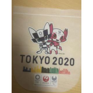 ジャル(ニホンコウクウ)(JAL(日本航空))のJAL ヘッドレスト 東京オリンピック(ノベルティグッズ)