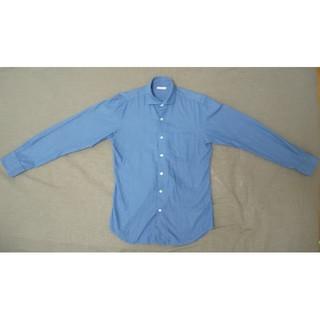 ジーユー(GU)の【ブルーシャツ】GU ジーユー 長袖シャツ トップス(シャツ)