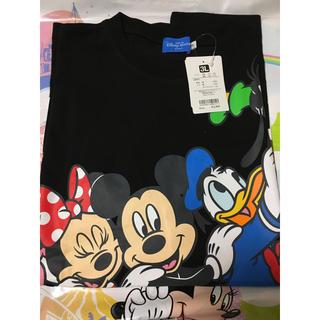 ディズニー(Disney)のベスティーズ Tシャツ 3L ブラック ディズニーリゾート(キャラクターグッズ)