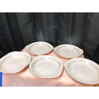 美品 カレー皿 ゴールド オパール ヤマイチチャイナ(食器)
