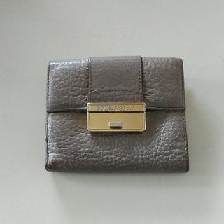 ドルチェアンドガッバーナ(DOLCE&GABBANA)の二つ折り財布(財布)