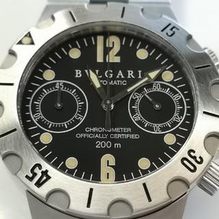 ブルガリ(BVLGARI)の質流れ品WAA!BVLGARI ブルガリ ディアゴノ自動巻きメンズ 腕時計 美品(腕時計(アナログ))