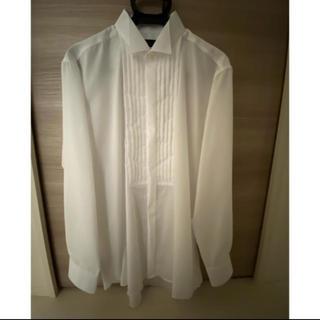 アオヤマ(青山)の新品未使用◆新郎 タキシード用 ウィングカラーシャツ 結婚式(シャツ)