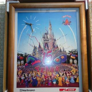 東京ディズニー15周年 '98マ・マーキャンペーンオリジナルクロック