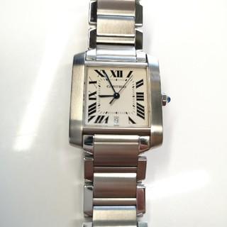Cartier - 質流れ品WXV!Cartier カルティエ タンクフランセーズLM メンズ腕時計