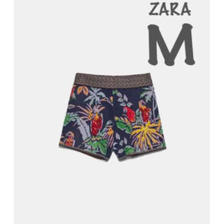 ZARA - 【新品・未使用】ZARA ジャガード織り ショートパンツ  M