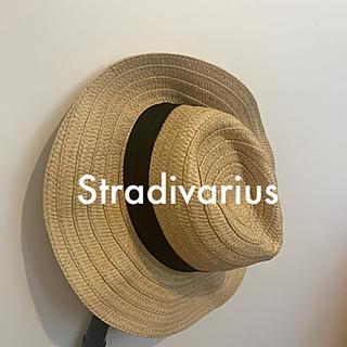 ザラ(ZARA)のストラディバリウス(Stradivarius)麦わら帽子(麦わら帽子/ストローハット)