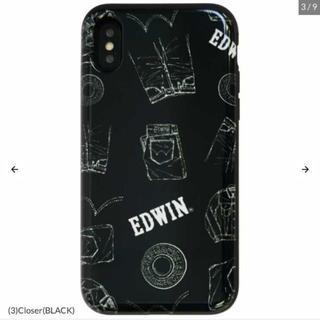 エドウィン(EDWIN)のEDWIN✩IC収納付きiPhoneケース(iPhoneケース)