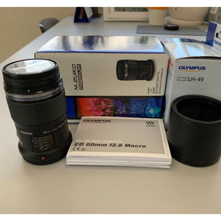 オリンパス(OLYMPUS)の  M.ZUIKO DIGITAL ED 60mm F2.8 Macro(レンズ(単焦点))