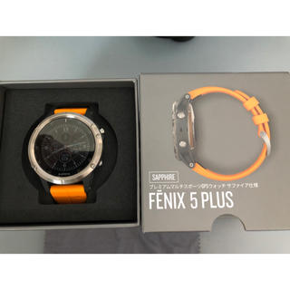 GARMIN - garmin  fenix 5 plus titan grey アクセサリー各種