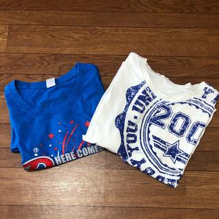 ズンバ(Zumba)の【2点セット】ZUMBA Tシャツ XL/XXL サイズ(Tシャツ/カットソー(半袖/袖なし))