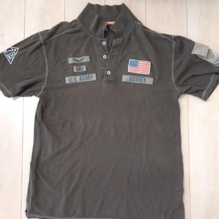 アヴィレックス(AVIREX)のAVIREX  ポロシャツ XL  カーキ(ポロシャツ)