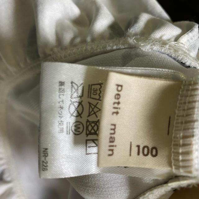 petit main(プティマイン)のプティマイン  水着 100 キッズ/ベビー/マタニティのキッズ服男の子用(90cm~)(水着)の商品写真