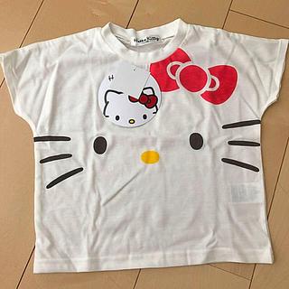 ハローキティ(ハローキティ)のハローキティ Tシャツ 100 新品(Tシャツ/カットソー)
