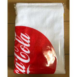 コカコーラ(コカ・コーラ)のコカコーラ バスタオル(タオル/バス用品)