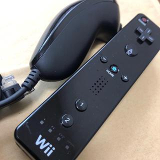 Wii - wiiリモコンもヌンチャク クロ