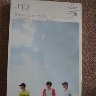 ジェイワイジェイ(JYJ)の最安値 JYJ 3hree VoicesⅢ DVD(その他)