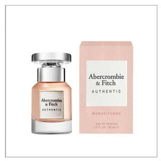 アバクロンビーアンドフィッチ(Abercrombie&Fitch)のアバクロンビー&フィッチ オーセンティックフォーハー オードパルファム 30ml(香水(女性用))