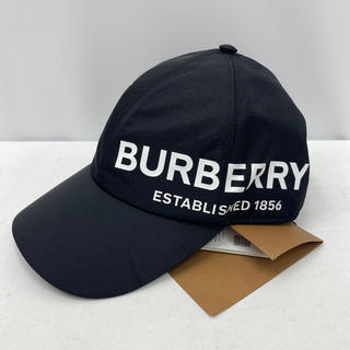 バーバリー(BURBERRY)の確実正規品!バーバリー  ロゴキャップ M ブラック(キャップ)