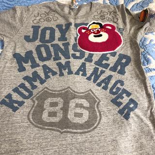 ジャム(JAM)のJAM クマテン サガラ Tシャツ グレー(Tシャツ/カットソー)