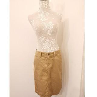 ムジルシリョウヒン(MUJI (無印良品))のMujiデニムカッキースカート(ひざ丈スカート)