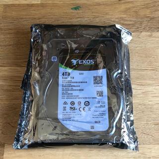 新品未開封 Seagate ST4000NM0035 HDD SATA(PCパーツ)