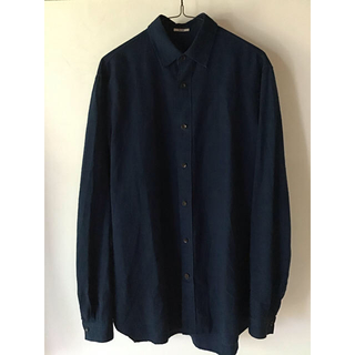 ポールハーデン(Paul Harnden)のkaval silk cotton Basic plain shirt シャツ (シャツ)