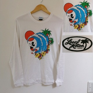 ディズニー(Disney)のミッキーTシャツ 波乗りミッキー ディズニー Disney ローカルモーション(Tシャツ/カットソー(七分/長袖))