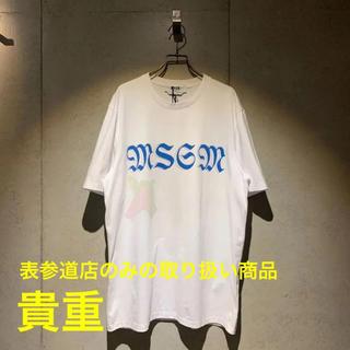 MSGM - 美品 MSGM エムエスジーエム ビッグロゴ 半袖Tシャツ