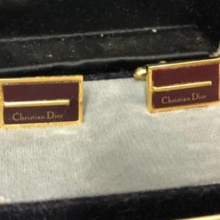 クリスチャンディオール(Christian Dior)のクリスチャンディオール カフス ChristianDior メンズ(カフリンクス)