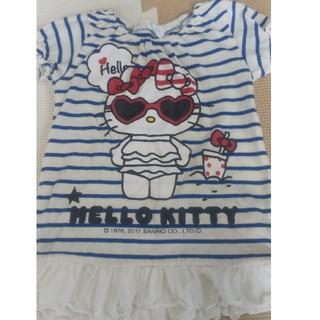 ハローキティ(ハローキティ)のキティちゃんTシャツ 90(Tシャツ/カットソー)