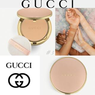 グッチ(Gucci)の✨GUCCI✳︎グッチ✨プードル ド ボーテ マット コンパクト プレスト #3(フェイスパウダー)