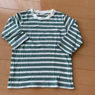 グローバルワーク(GLOBAL WORK)の美品 グローバルワーク ボーダーロンT(Tシャツ/カットソー)