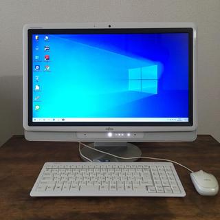 フジツウ(富士通)の■富士通FMV FG50TW■SSD128GB■Windows10(デスクトップ型PC)