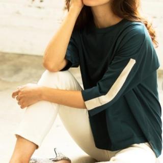 バンヤードストーム(BARNYARDSTORM)のBARNYARDSTORM 7分袖カットソー グリーン(Tシャツ(長袖/七分))