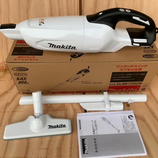 Makita - 未使用新品!マキタ18vコードレスクリーナー CL281FDZW (本体のみ)
