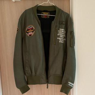 VANSON - vanson s1801 ma-1 メッシュジャケット