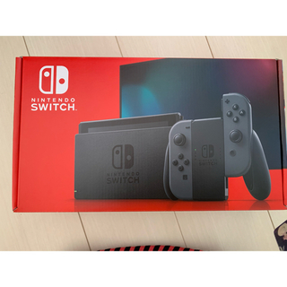 ニンテンドースイッチ(Nintendo Switch)のNintendo switch  任天堂スイッチ本体 ニンテンドウ 新型 グレー(家庭用ゲーム機本体)