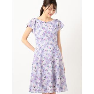 トッカ(TOCCA)の【洗える!】FLOWER SHOWER ドレス(ひざ丈ワンピース)