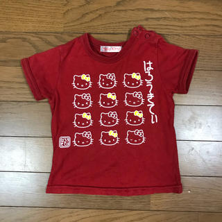 ハローキティ(ハローキティ)の女の子 90 トップス キティー 同梱¥200引き (Tシャツ/カットソー)