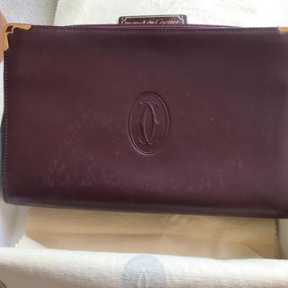 カルティエ(Cartier)のcartierセカンドバッグ(セカンドバッグ/クラッチバッグ)
