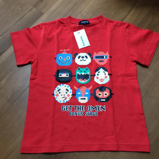 クレードスコープ(kladskap)のクレードスコープ 新品 お面 Tシャツ 110(Tシャツ/カットソー)