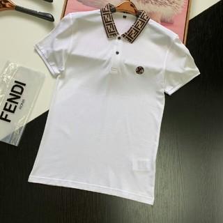 フェンディ(FENDI)の未使用!オススメフェンディ「FENDI」 Tシャツ 襟付き(Tシャツ/カットソー(半袖/袖なし))