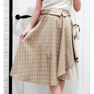 ノエラ(Noela)のレイヤードヘムスカート(ひざ丈スカート)