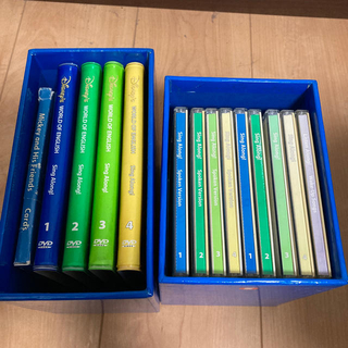 ディズニー(Disney)のDWEシングアロング CD、DVD(キッズ/ファミリー)