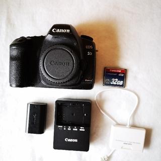 キヤノン(Canon)のCanon EOS 5D markⅡ オマケあり(デジタル一眼)