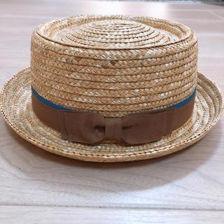 レプシィム(LEPSIM)のハット 麦わら帽子 カンカン帽 レプシィム(麦わら帽子/ストローハット)